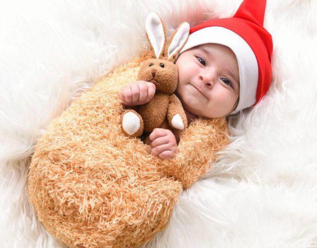 عکس نوزاد 3 ماهه
