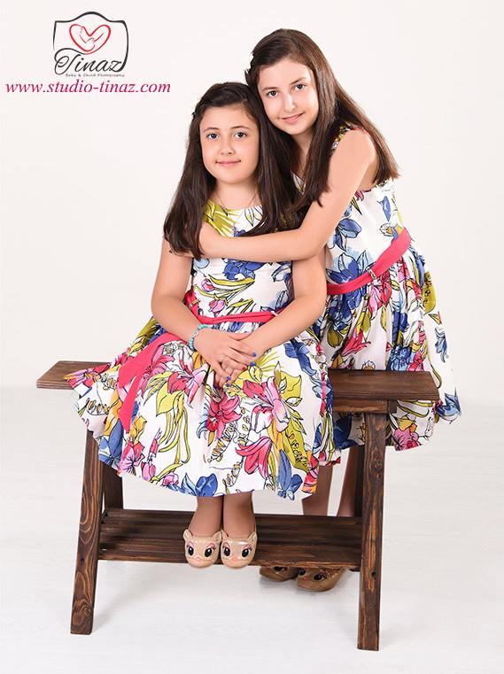 عکس کودک خواهر و برادر