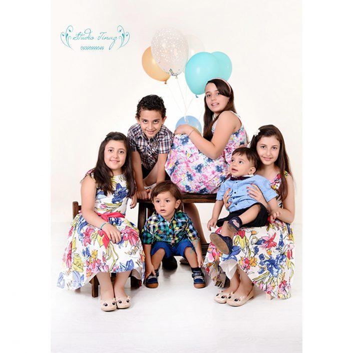 آتلیه کودک و خانوادگی