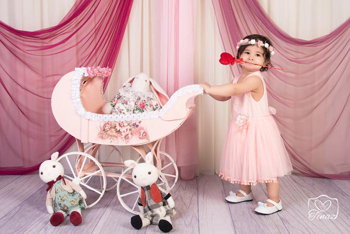 آتلیه عکاسی دختر 3 ساله