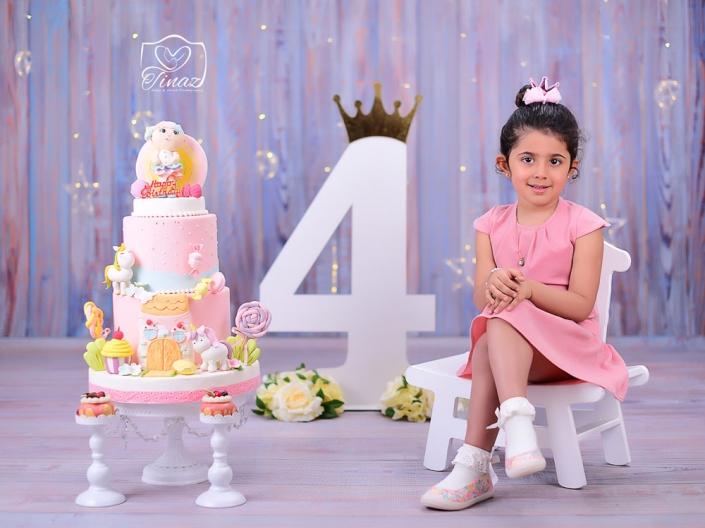 دکور تولد 4 سالگی