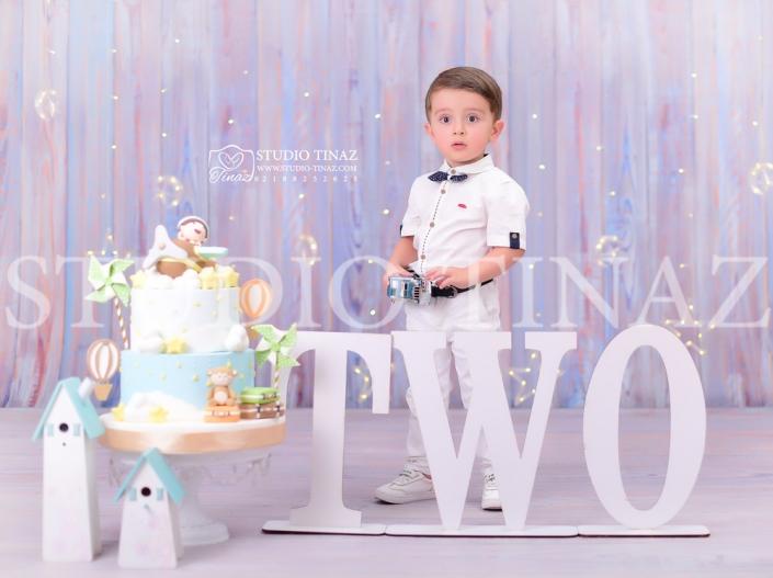 تم تولد 2 سالگی آتلیه کودک