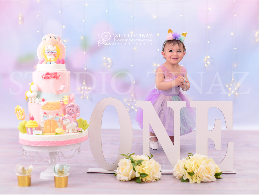 تم تولد دخترانه آتلیه کودک