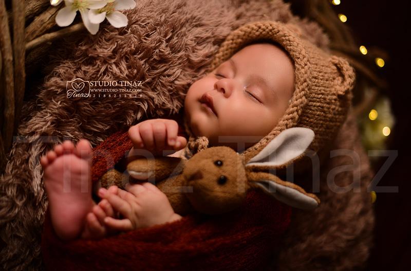 عکاسی نوزاد تیناز