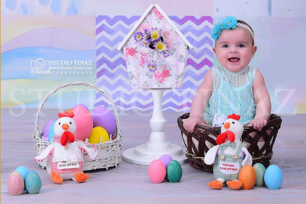 آتلیه کودک 4 تا 5 ماه