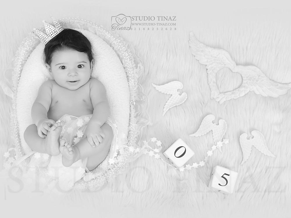 عکس کودک 4 ماه تا 5 ماه