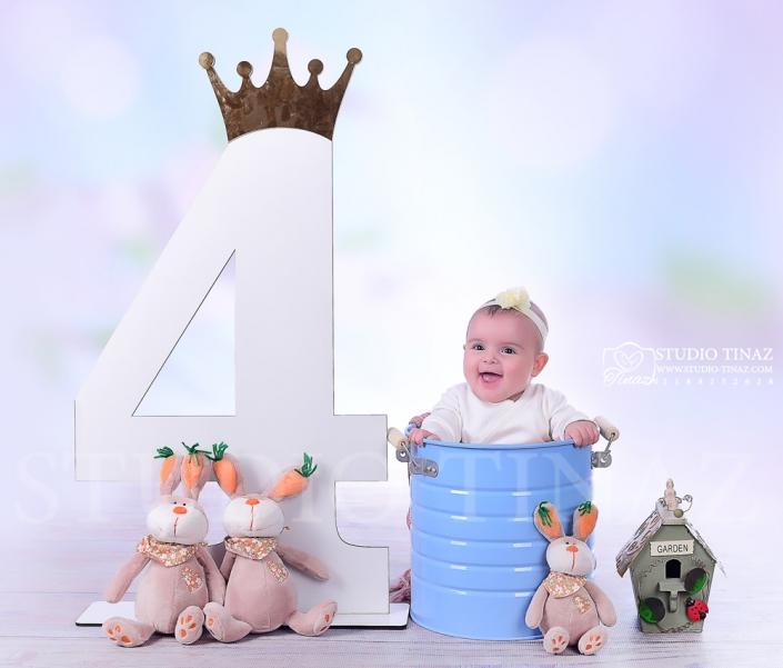 عکس کودک 4 تا 5 ماه